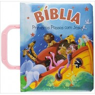 Bíblia Infantil Rosa