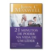 21 minutos de poder na vida de um líder