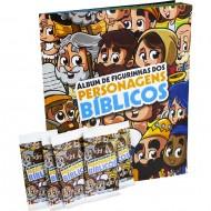álbum de figurinhas personagens bíblicos